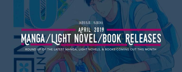 April 2019 Manga / Light Novel / Book Releases