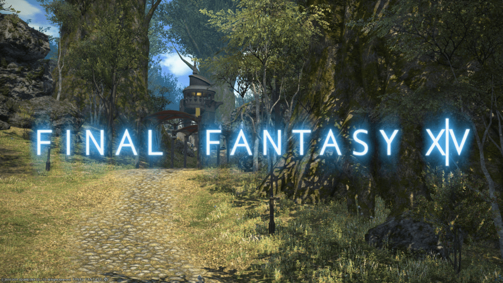 Final Fantasy XIV title