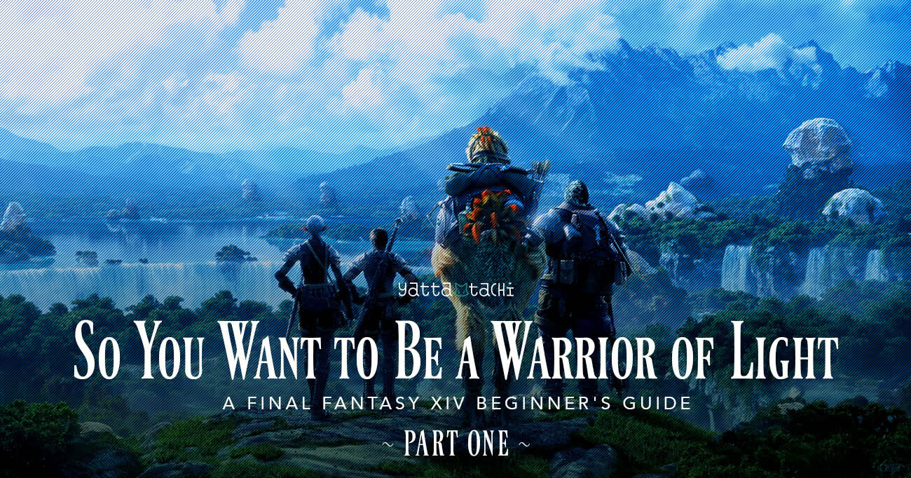So You Want to Be a Warrior of Light ( FFXIV Beginner's