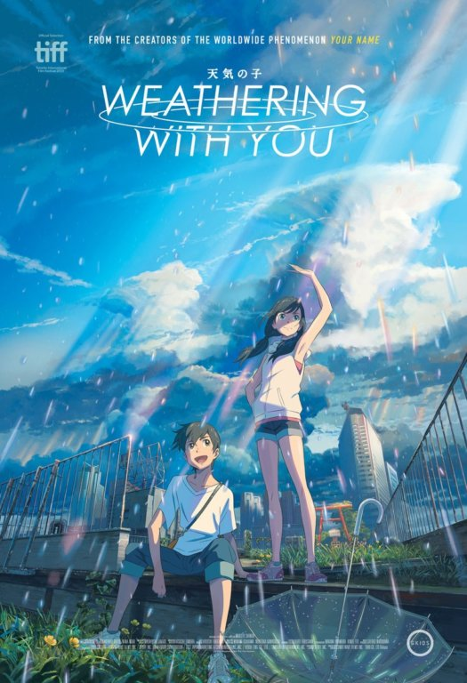GKIDS Weathering with You Poster