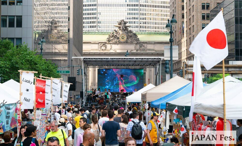 Japan FES Okinawa Festival at Grand Central, Midtown Manhattan.