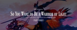 So You Want to Be a Warrior of Light: Part 3