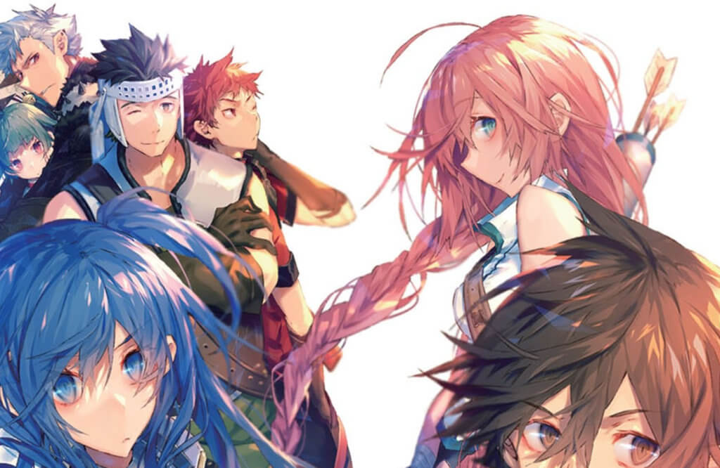 "A screenshot of a portion of the cover for ""Grimgar of Fantasy and Ash Volume 2"""