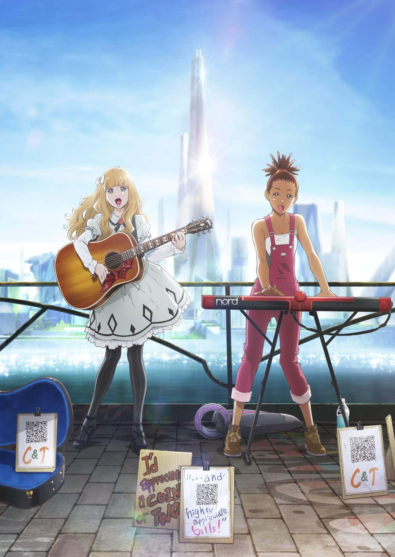 Carole and Tuesday promotional poster