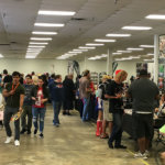 Dealer/Artist Alley area at Nomikai Dallas 2019