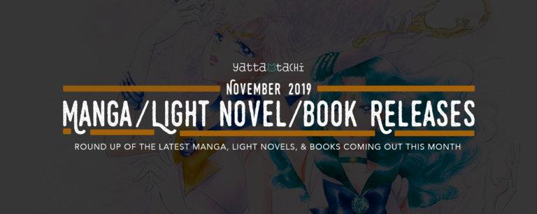 November 2019 Manga / Light Novel / Book Releases