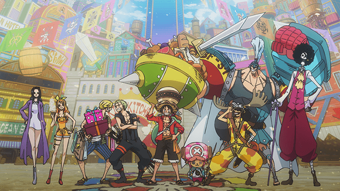 One Piece: Stampede Straw Hat Crew