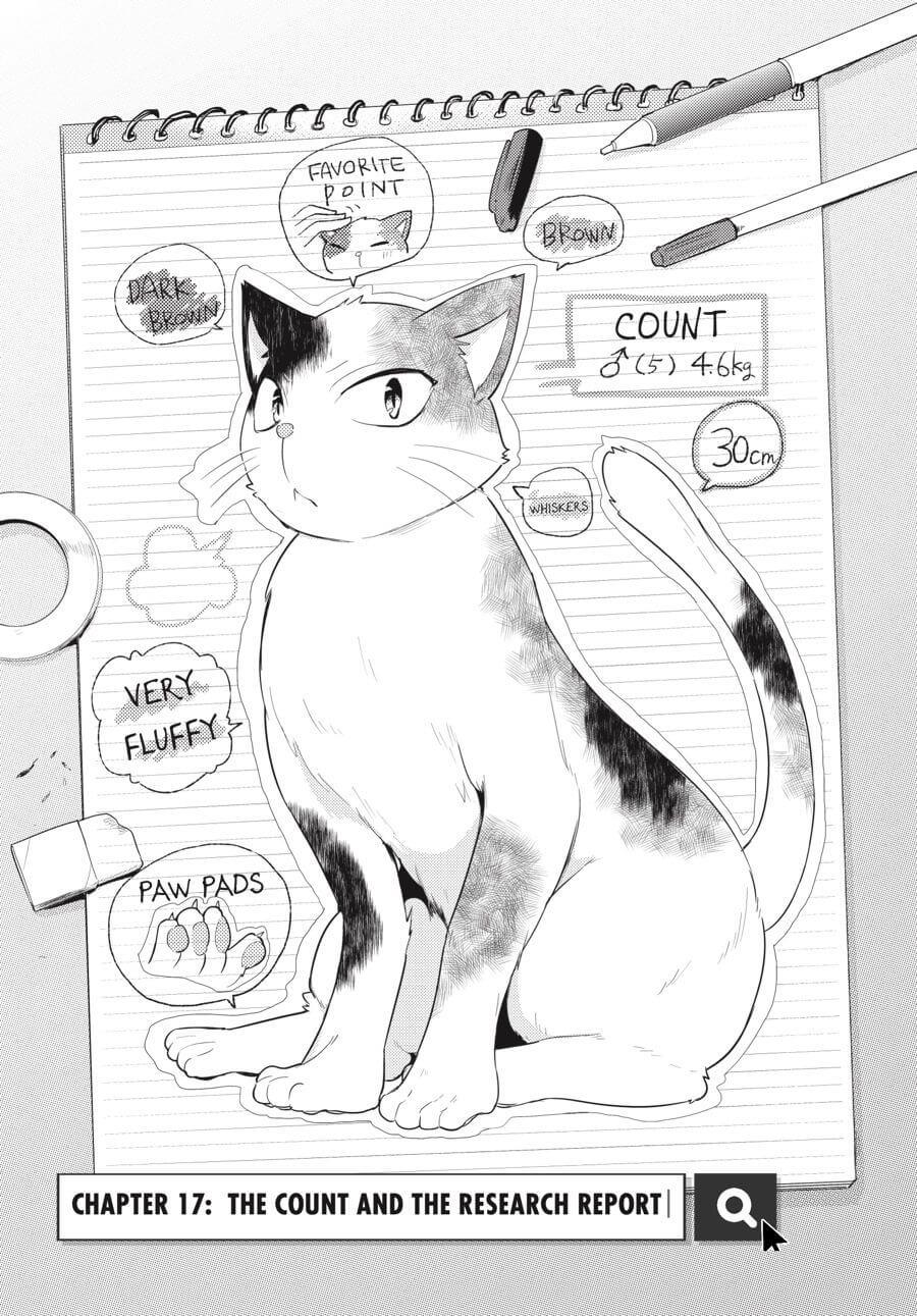 The cat, Count Fujiwara