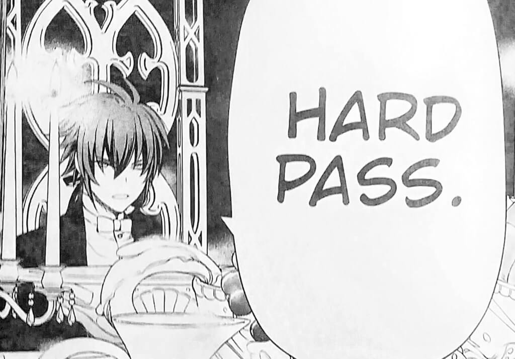 "Kaito saying ""hard pass"", which coincidentally is also the reviewer's verdict on the book."