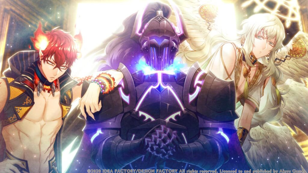 Canus stands in the center with Ignis to his right and Il to his left.