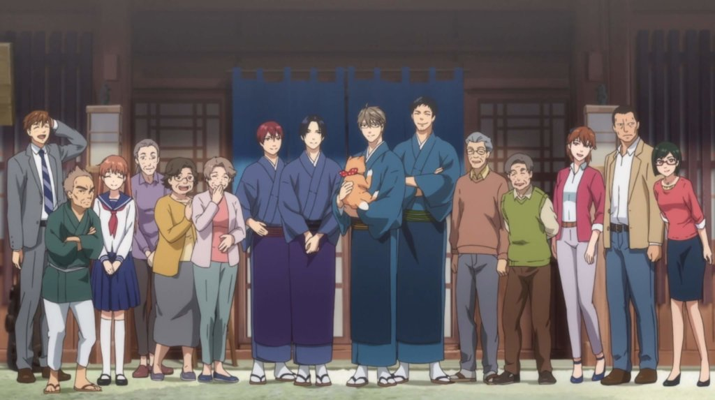 The main cast and side characters