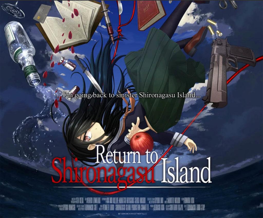 Return to Shironagasu Island Promo Poster