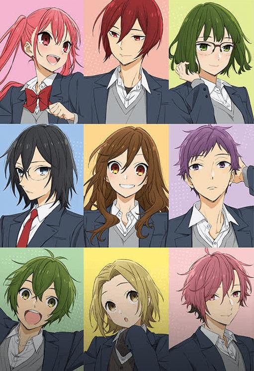 Promotional image for the Horimiya anime