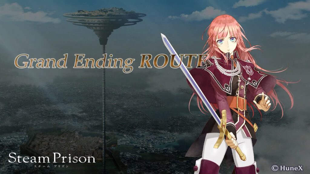Grand Ending title page